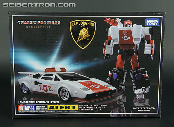 Transformers News: New Galleries: Takara Tomy Transformers Masterpiece MP-14 Red Alert