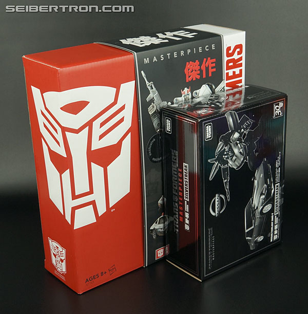 Transformers News: New Galleries: Hasbro Masterpiece MP-04 Prowl and MP-05 Sunstorm