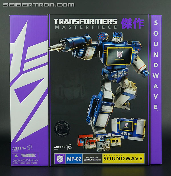 Transformers Masterpiece Soundwave (Image #1 of 249)