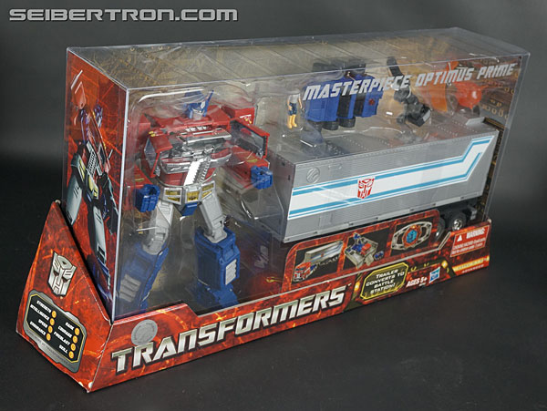 Transformers News: New Gallery: Hasbro Masterpiece Optimus Prime (MP-10)