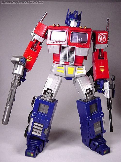 Transformers: Masterpiece  Vs  G1  - Optimus Prime Vs Megatron R_mp1convoy077