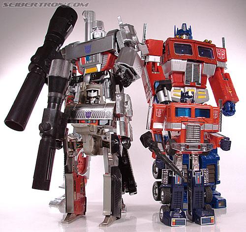 Transformers: Masterpiece  Vs  G1  - Optimus Prime Vs Megatron R_mp4convoy231