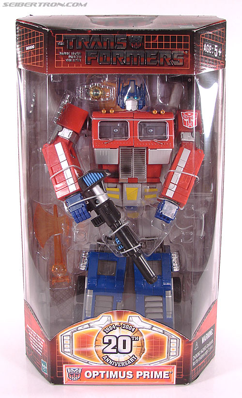 Transformers Masterpiece Optimus Prime (20th Anniversary) (Convoy) (Image #1 of 179)