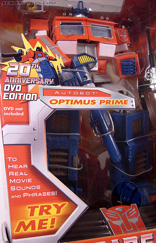 Transformers Masterpiece Optimus Prime (20th Anniversary DVD) (Image #3 of 183)