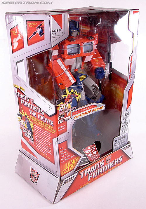 Transformers Masterpiece Optimus Prime (20th Anniversary DVD) (Image #6 of 183)