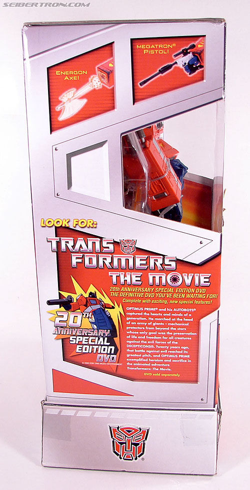 Transformers Masterpiece Optimus Prime (20th Anniversary DVD) (Image #7 of 183)