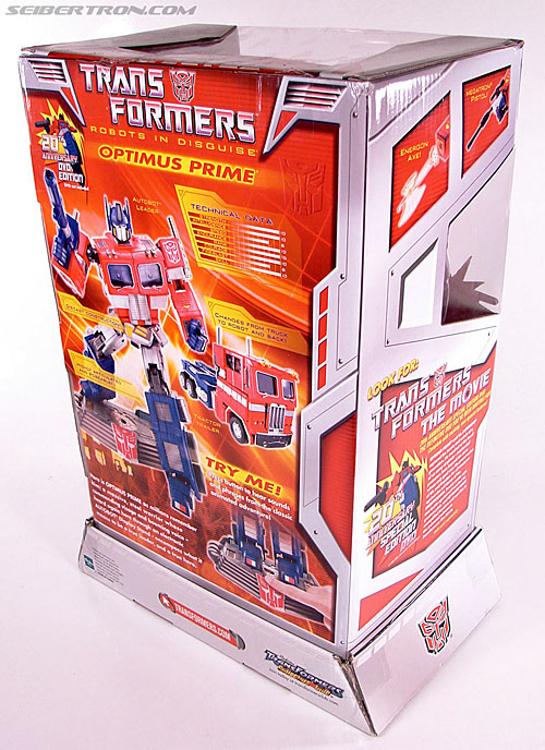 Transformers Masterpiece Optimus Prime (20th Anniversary DVD) (Image #10 of 183)