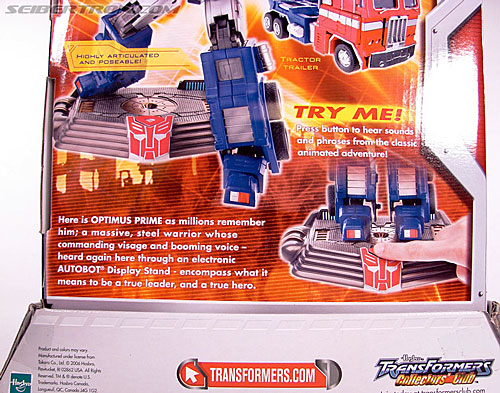 Transformers Masterpiece Optimus Prime (20th Anniversary DVD) (Image #14 of 183)