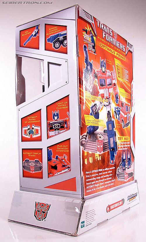 Transformers Masterpiece Optimus Prime (20th Anniversary DVD) (Image #15 of 183)