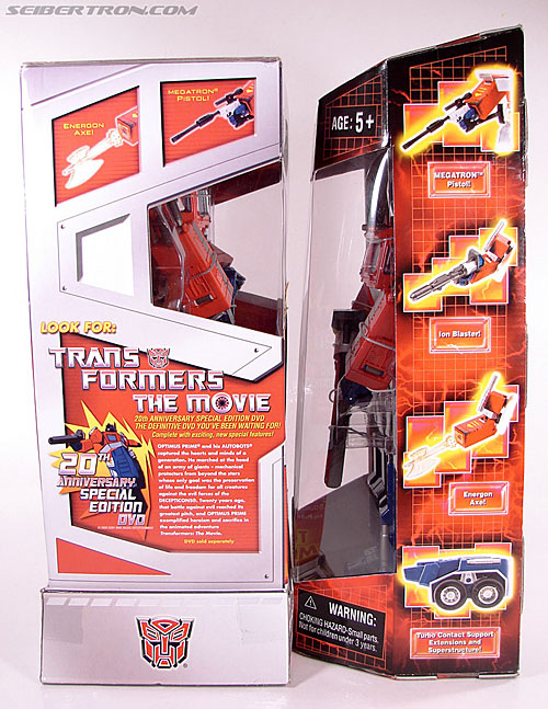 Transformers Masterpiece Optimus Prime (20th Anniversary DVD) (Image #22 of 183)