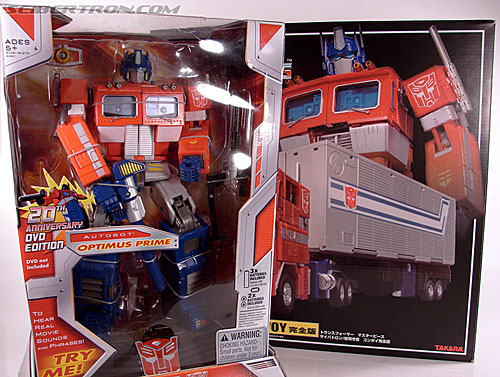 Transformers Masterpiece Optimus Prime (20th Anniversary DVD) (Image #25 of 183)