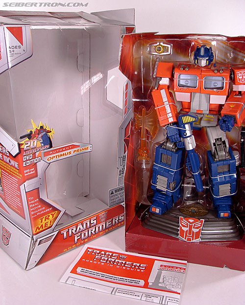 Transformers Masterpiece Optimus Prime (20th Anniversary DVD) (Image #27 of 183)