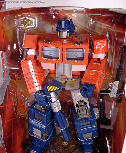 Transformers Masterpiece Optimus Prime (20th Anniversary DVD) (Image #28 of 183)