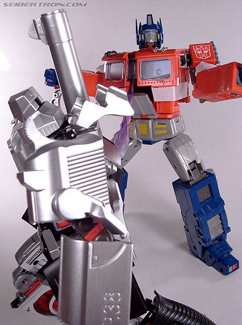 Transformers Masterpiece Optimus Prime (20th Anniversary DVD) (Image #182 of 183)