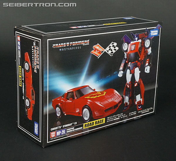 Transformers News: New Gallery: Masterpiece MP-26 Road Rage