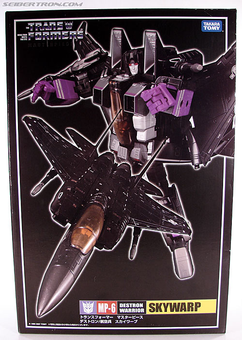 Transformers Masterpiece Skywarp (MP-06) (Image #1 of 207)