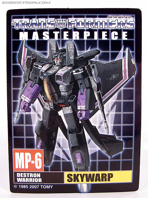 Transformers Masterpiece Skywarp (MP-06) (Image #26 of 207)