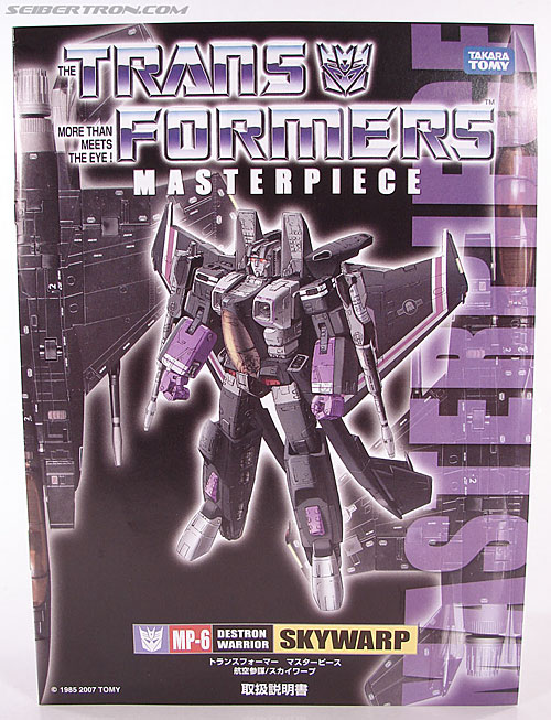 Transformers Masterpiece Skywarp (MP-06) (Image #29 of 207)