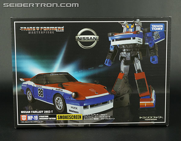 Transformers News: New Gallery: Transformers Masterpiece MP-19 Smokescreen