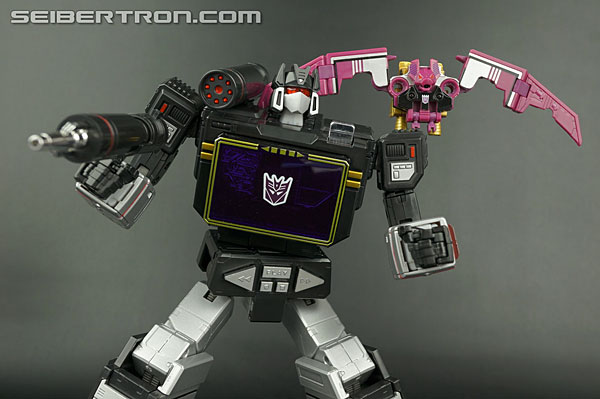 Transformers News: New Galleries: Takara Tomy Masterpiece MP-13B Soundblaster and Ratbat