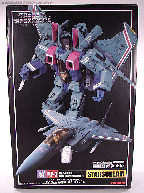 Transformers Masterpiece Starscream (MP-03) (Image #1 of 280)