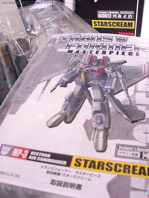 Transformers Masterpiece Starscream (MP-03) (Image #32 of 280)