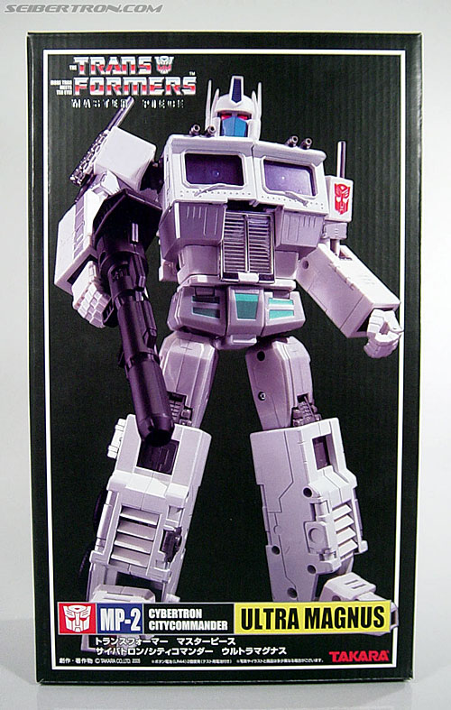 Transformers Masterpiece Ultra Magnus (MP-02) (Image #1 of 216)