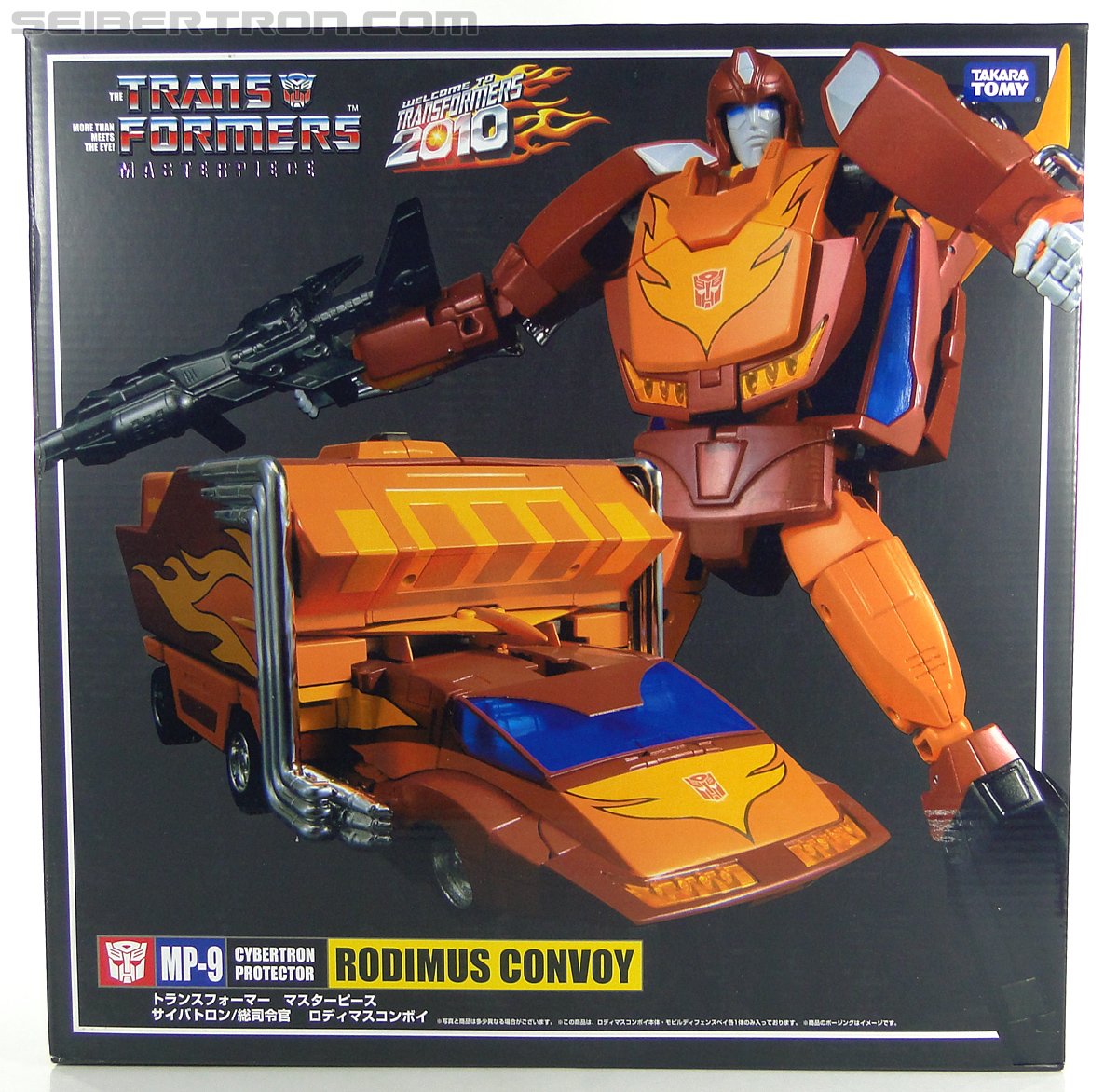 Transformers Masterpiece Rodimus Prime (MP-09) (Rodimus Convoy (MP-09)) (Image #1 of 515)