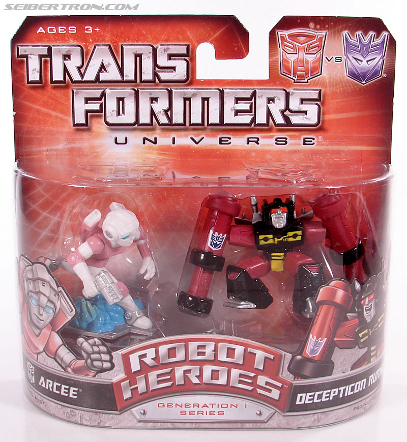 Transformers Robot Heroes Arcee (G1) (Image #1 of 29)
