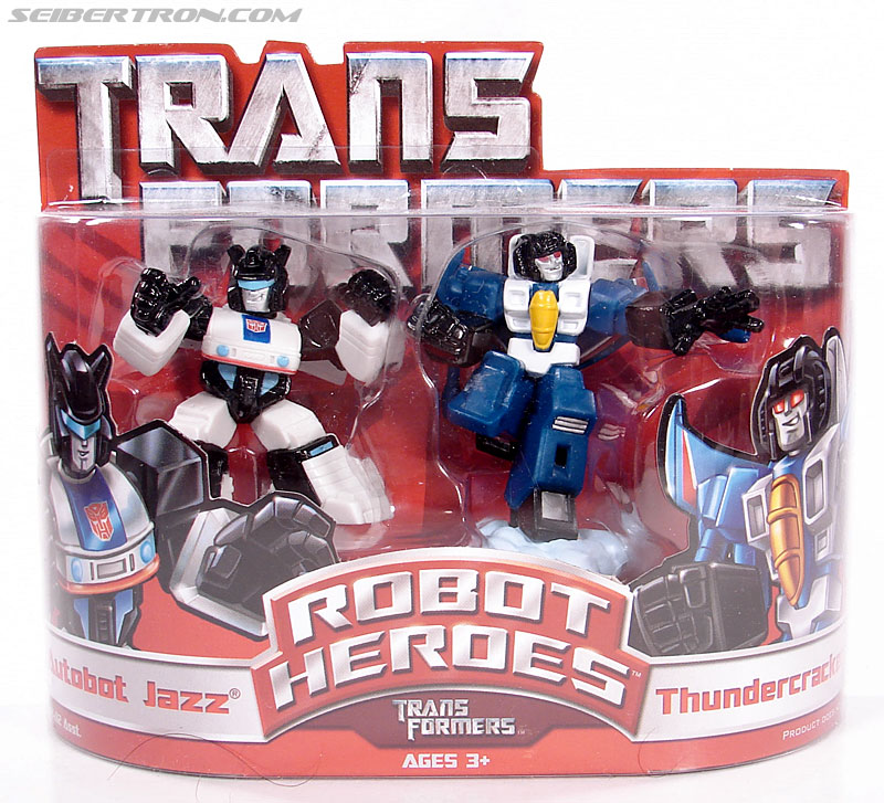 Transformers Robot Heroes Jazz (G1) (Image #1 of 35)