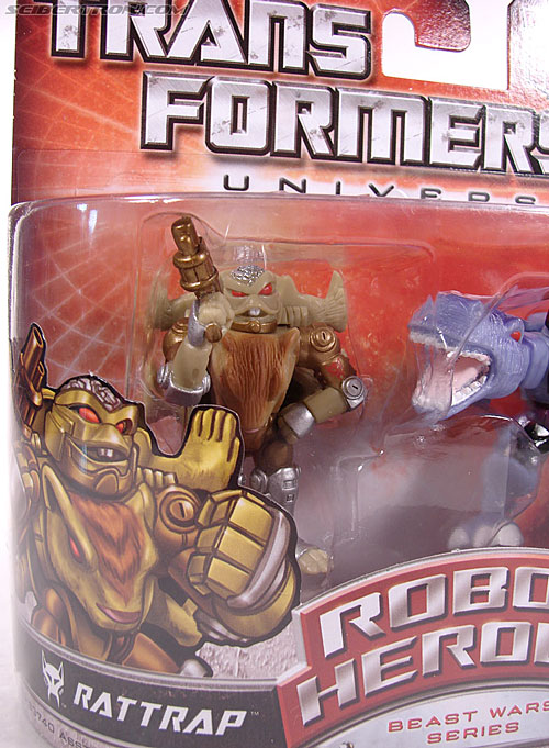 Transformers Robot Heroes Rattrap (BW) (Image #2 of 38)