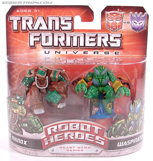 Transformers Robot Heroes Waspinator (BW) (Image #1 of 39)