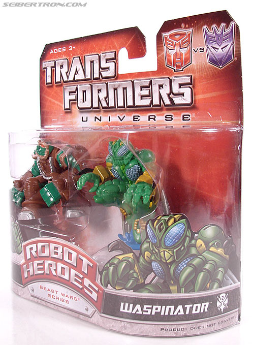 Transformers Robot Heroes Waspinator (BW) (Image #10 of 39)