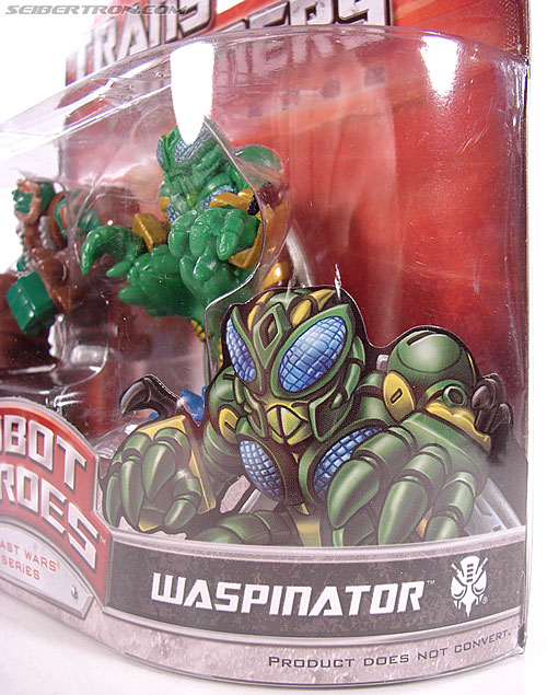 Transformers Robot Heroes Waspinator (BW) (Image #11 of 39)
