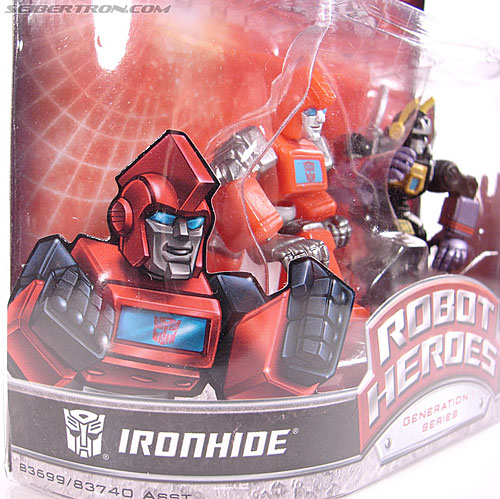 Transformers Robot Heroes Ironhide (G1) (Image #3 of 27)