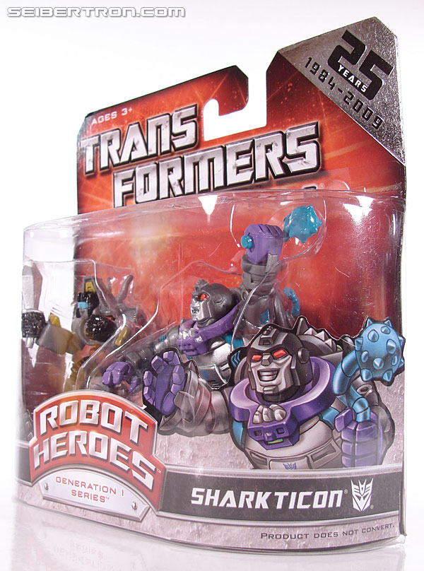 Transformers Robot Heroes Sharkticon (G1: Gnaw) (Image #2 of 35)