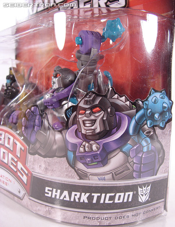 Transformers Robot Heroes Sharkticon (G1: Gnaw) (Image #3 of 35)