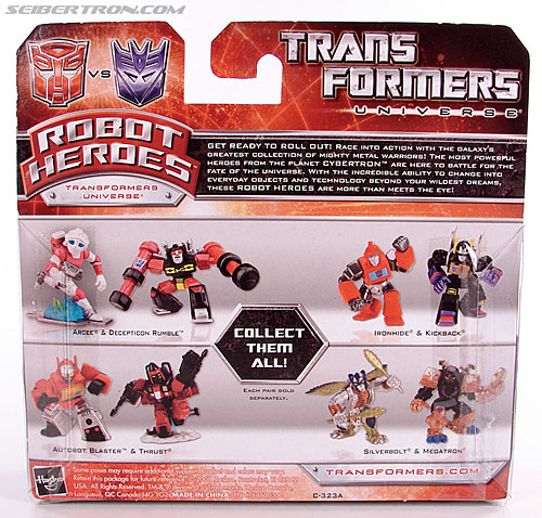 Transformers Robot Heroes Thrust (G1) (Image #8 of 37)