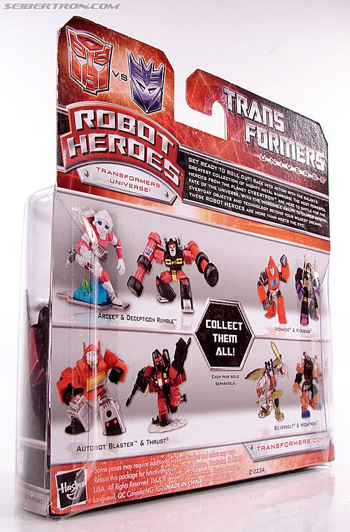 Transformers Robot Heroes Thrust (G1) (Image #9 of 37)