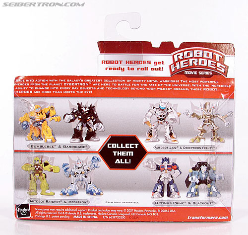 Transformers Robot Heroes Barricade (Movie) (Image #6 of 44)