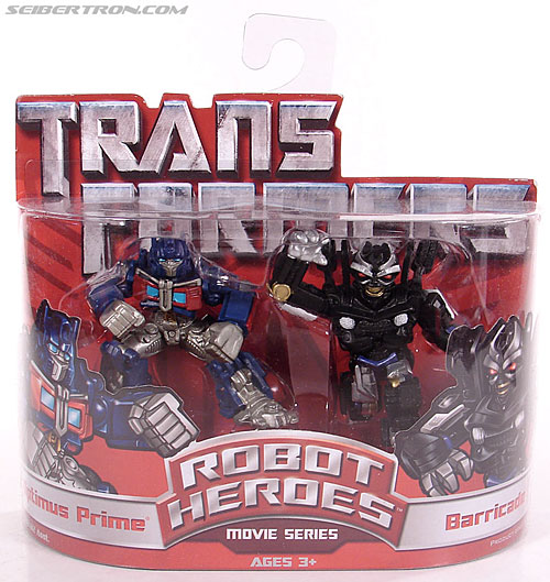 Transformers Robot Heroes Barricade (Movie) (Image #1 of 31)
