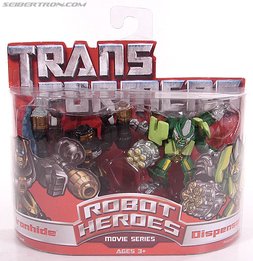 Transformers Robot Heroes Dispensor (Movie) (Image #1 of 46)