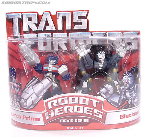 Transformers Robot Heroes Optimus Prime (Movie) (Image #1 of 60)