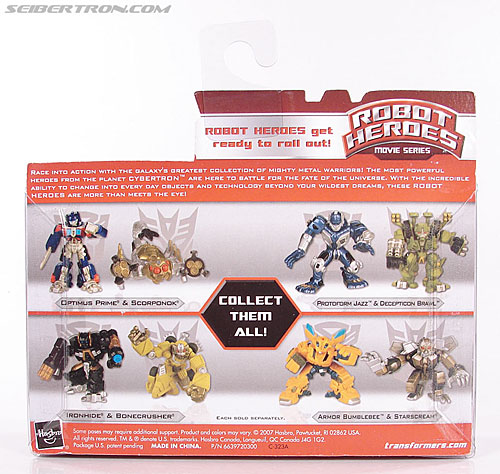 Transformers Robot Heroes Scorponok (Movie) (Image #6 of 48)
