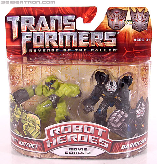 Transformers Robot Heroes Barricade (ROTF) (Image #1 of 37)