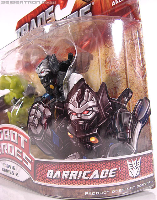 Transformers Robot Heroes Barricade (ROTF) (Image #3 of 37)