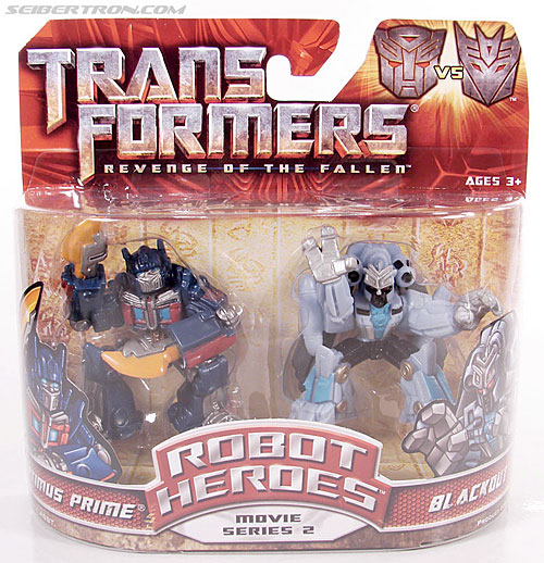 Transformers Robot Heroes Blackout (ROTF) (Image #1 of 37)