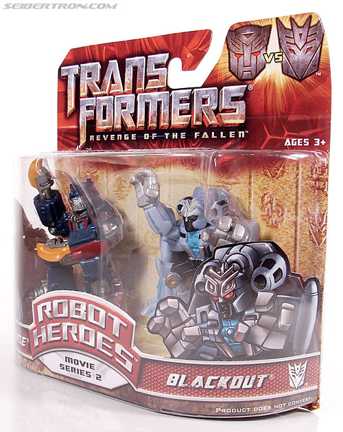 Transformers Robot Heroes Blackout (ROTF) (Image #8 of 37)