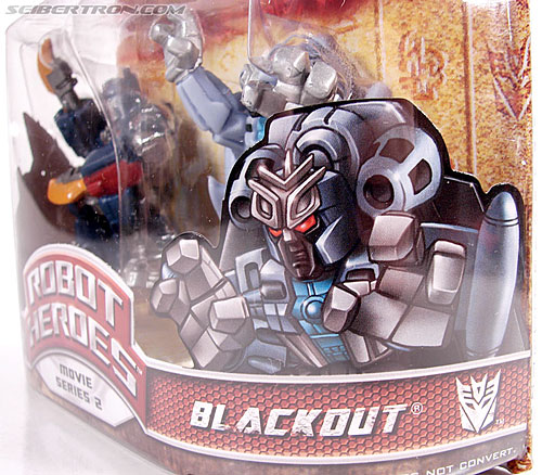 Transformers Robot Heroes Blackout (ROTF) (Image #9 of 37)