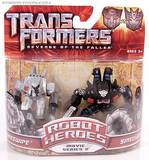 Transformers Robot Heroes Sideways (ROTF) (Image #1 of 38)